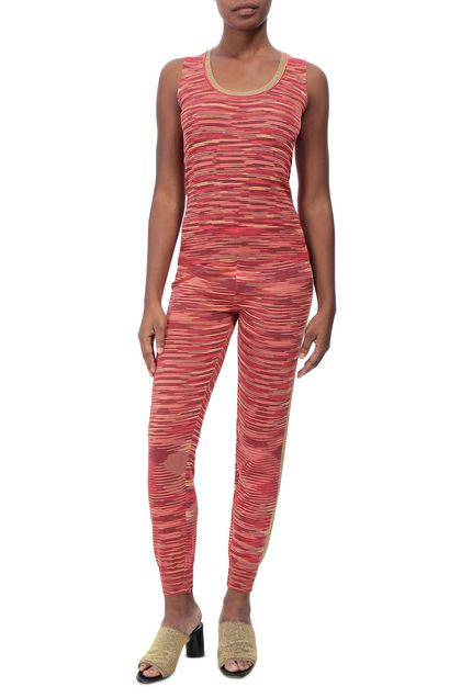 M MISSONI Sweater Coral Woman - Back