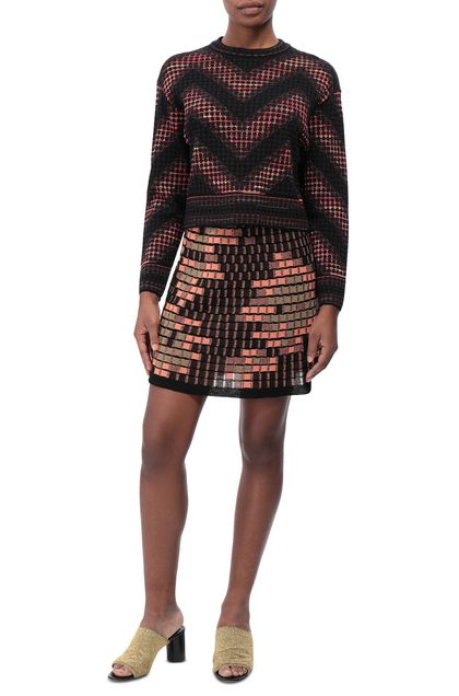 M MISSONI Jumper Black Woman - Back