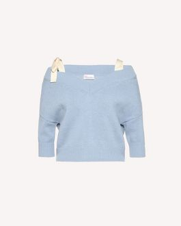 REDValentino Knit Sweater Woman RR3KCA24MDQ B01 a