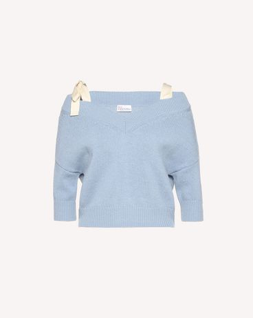 REDValentino RR3KCA71GVI 198 Knit Sweater Woman a