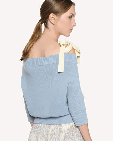 REDValentino RR3KCA71GVI 198 Knit Sweater Woman e