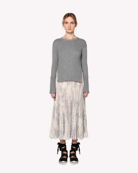 REDValentino Knit Sweater Woman RR3KCA34JMP GZ7 f