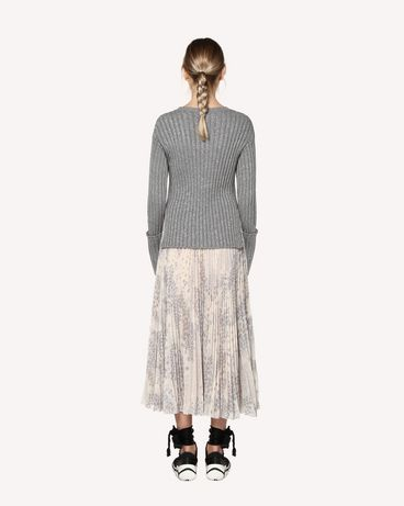 REDValentino RR3KCA34JMP GZ7 Knit Sweater Woman r