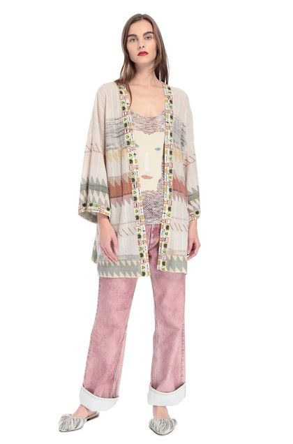 MISSONI Cardigan Beige Woman - Back