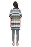 MISSONI Long-sleeved polo shirt Woman, Rear view