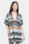 MISSONI Long-sleeved polo shirt Woman, Detail