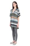 MISSONI Long-sleeved polo shirt Woman, Side view