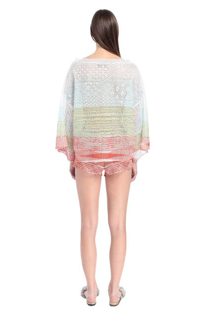 MISSONI Crew-neck White Woman - Front