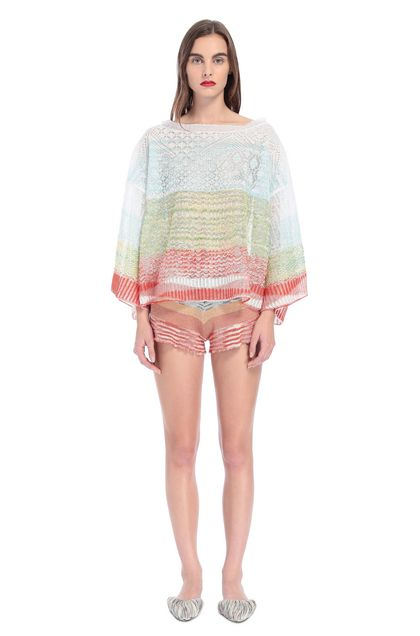 MISSONI Crew-neck White Woman - Back