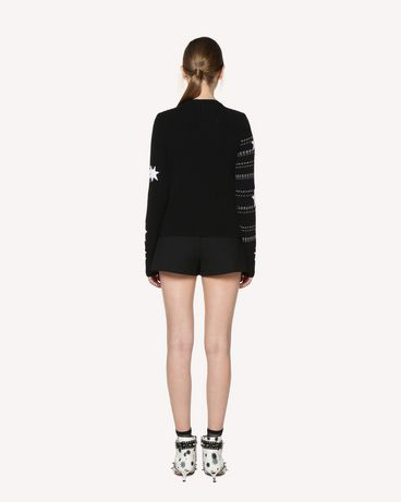 REDValentino RR3KCA20TSC 0MG Knit Sweater Woman r