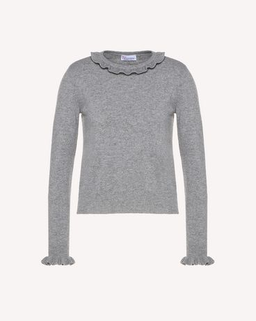 REDValentino RR3KCA67BSF 080 Knit Sweater Woman a