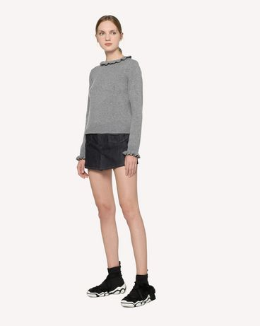 REDValentino RR3KCA67BSF 080 Knit Sweater Woman d
