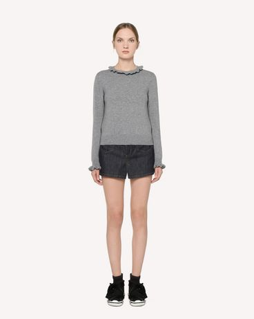 REDValentino RR3KCA67BSF 080 Knit Sweater Woman f
