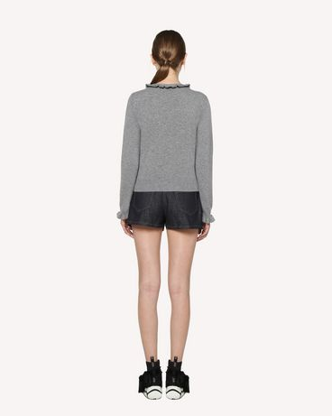 REDValentino RR3KCA67BSF 080 Knit Sweater Woman r