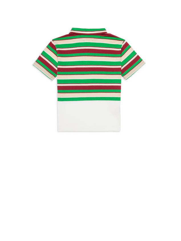 Marni Polo in cotton striped jersey Man - 3
