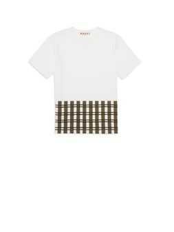 Marni Printed cotton T-shirt Man