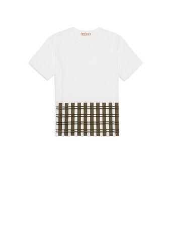 Marni Printed cotton T-shirt Man