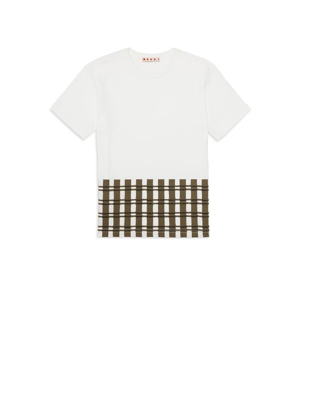 Marni Printed cotton T-shirt Man - 1