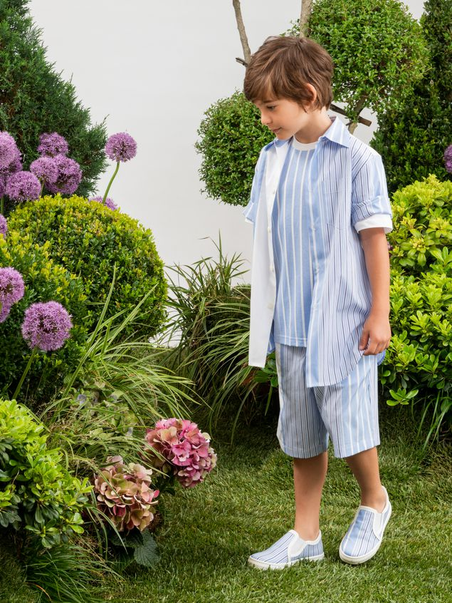 Marni Short pants in striped cotton Man - 2