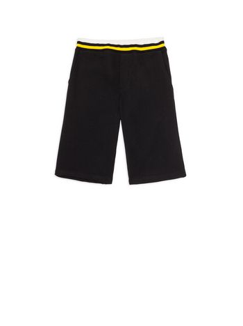 Marni Short pants in black fleece Man