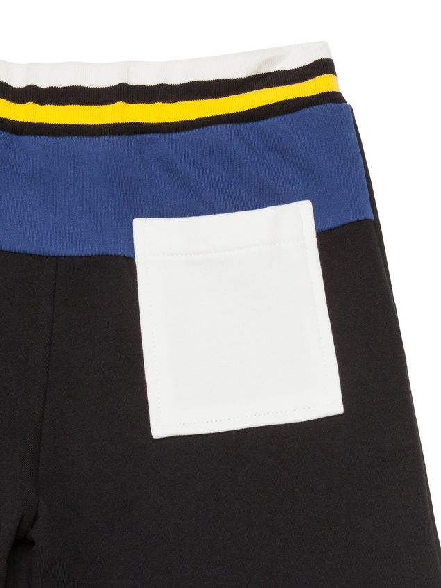Marni Short pants in black fleece Man - 4