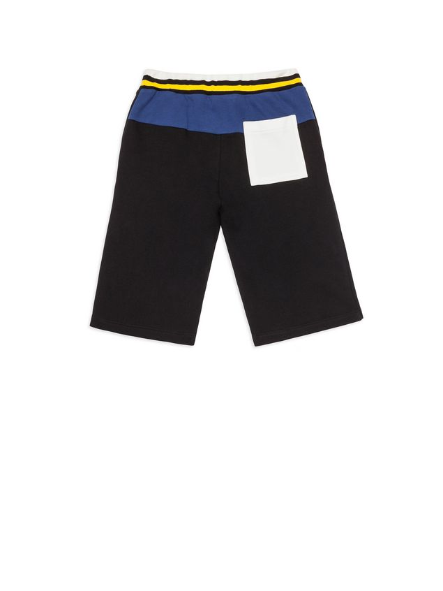Marni Short pants in black fleece Man - 3