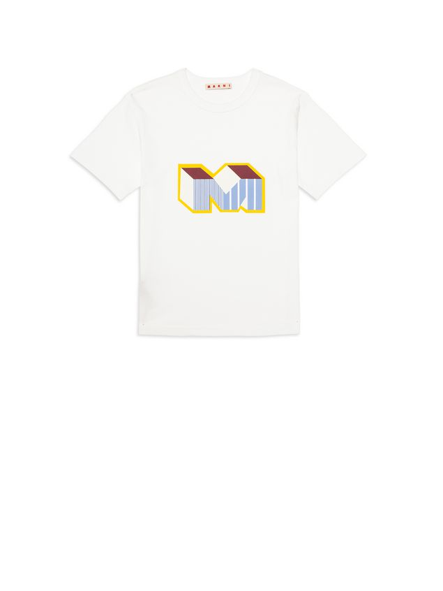 Marni Cotton T-shirt with Print Man - 1