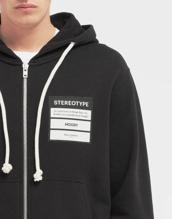 MAISON MARGIELA Stereotype hooded sweatshirt Sweatshirt [*** pickupInStoreShippingNotGuaranteed_info ***] a
