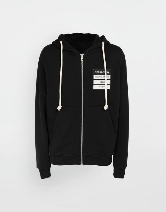 MAISON MARGIELA Stereotype hooded sweatshirt Sweatshirt [*** pickupInStoreShippingNotGuaranteed_info ***] f