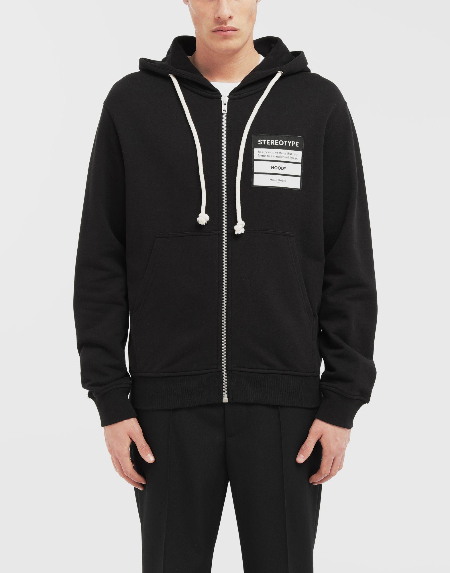 MAISON MARGIELA Stereotype hooded sweatshirt Sweatshirt Man r