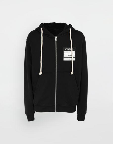 MAISON MARGIELA Stereotype hooded sweatshirt Sweatshirt Man f
