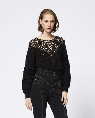 ISABEL MARANT LONG SLEEVE JUMPER Woman CAMDEN jumper r