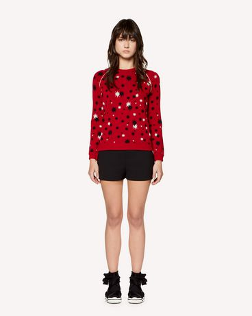 REDValentino RR3KCA65SXC D05 Knit Sweater Woman f