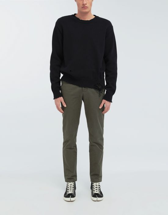 MAISON MARGIELA Destroyed knit pullover Crewneck sweater [*** pickupInStoreShippingNotGuaranteed_info ***] d
