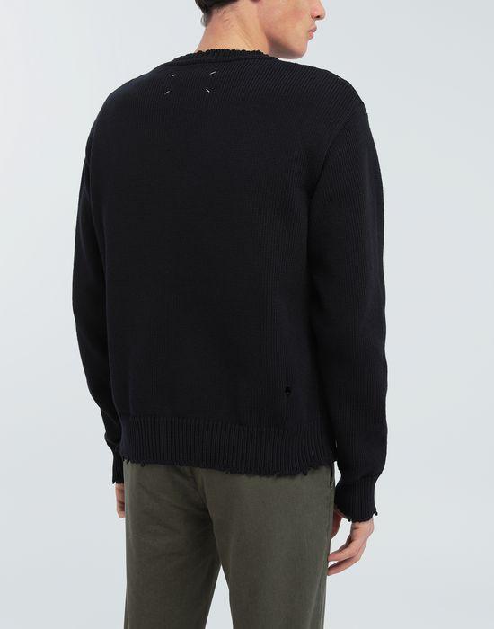 MAISON MARGIELA Destroyed knit pullover Crewneck sweater [*** pickupInStoreShippingNotGuaranteed_info ***] e