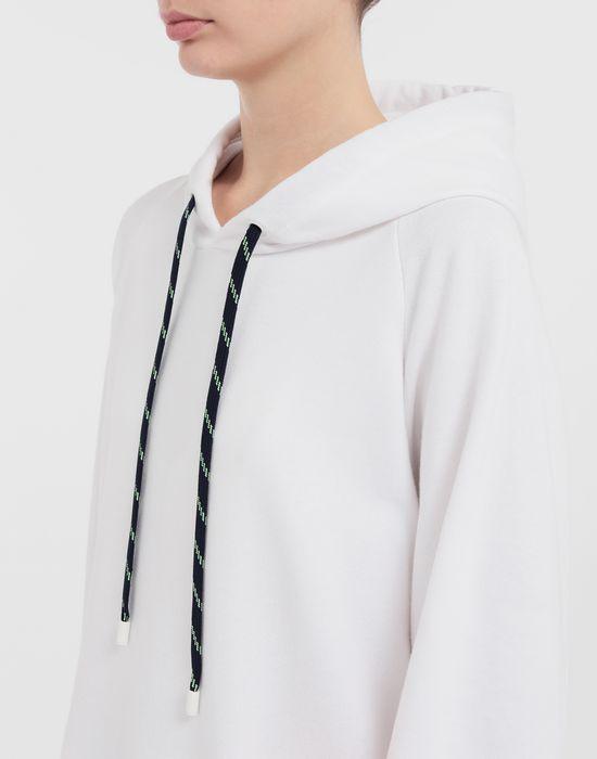 MAISON MARGIELA Thermo-fused tape jersey sweatshirt Hooded sweatshirt [*** pickupInStoreShipping_info ***] a