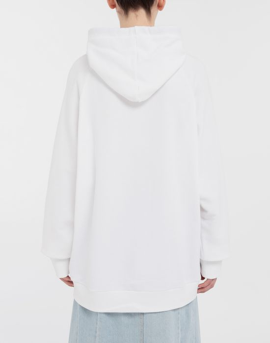 MAISON MARGIELA Thermo-fused tape jersey sweatshirt Hooded sweatshirt [*** pickupInStoreShipping_info ***] e