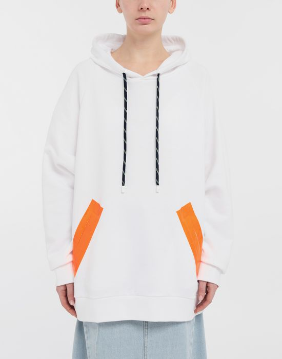 MAISON MARGIELA Thermo-fused tape jersey sweatshirt Hooded sweatshirt [*** pickupInStoreShipping_info ***] r