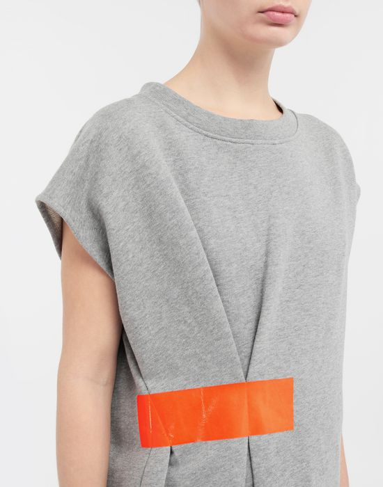 MAISON MARGIELA Thermo-fused tape jersey sweatshirt Sweatshirt [*** pickupInStoreShipping_info ***] a