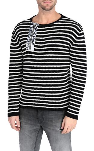 JUST CAVALLI Crewneck sweater [*** pickupInStoreShippingNotGuaranteed_info ***] Striped pullover f