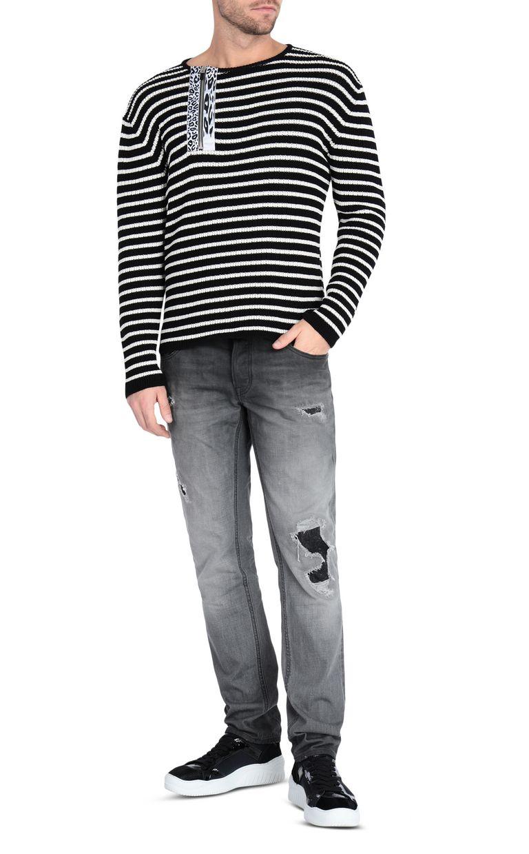 JUST CAVALLI Striped pullover Crewneck sweater [*** pickupInStoreShippingNotGuaranteed_info ***] d