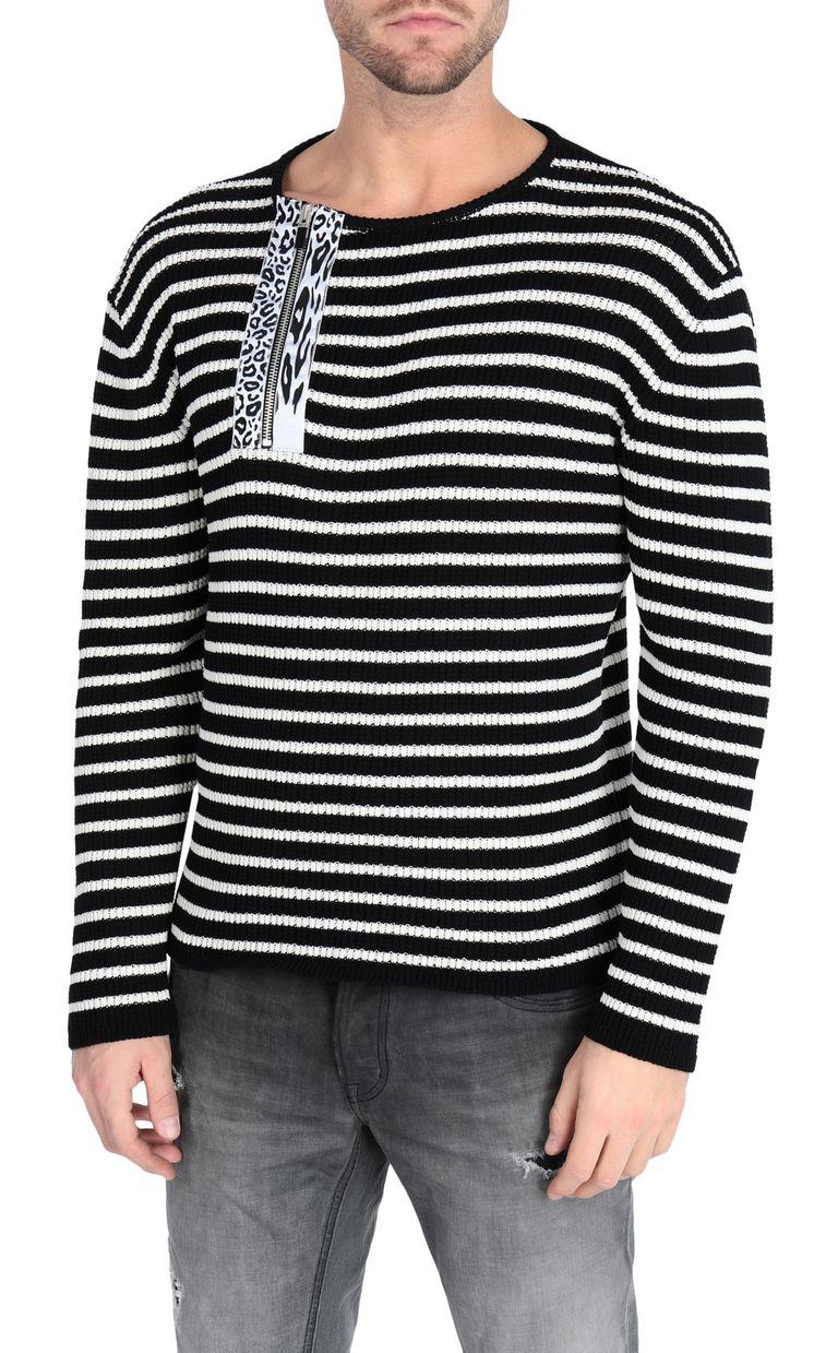 JUST CAVALLI Striped pullover Crewneck sweater [*** pickupInStoreShippingNotGuaranteed_info ***] f