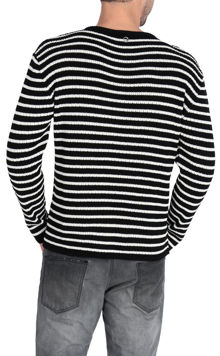 JUST CAVALLI Striped pullover Crewneck sweater [*** pickupInStoreShippingNotGuaranteed_info ***] r