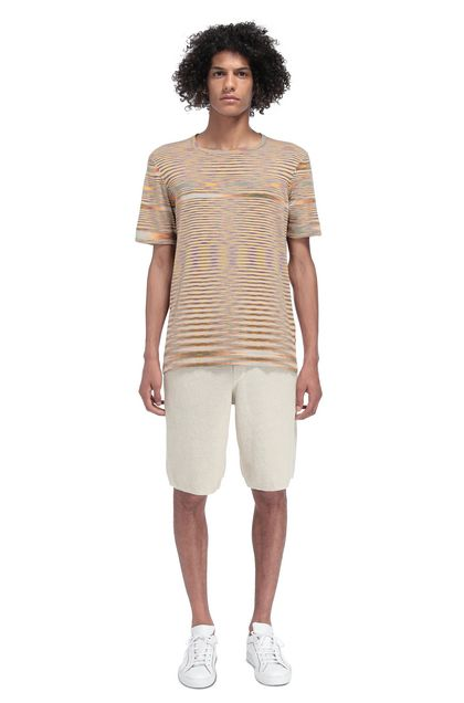 MISSONI Men's T-Shirts Orange Man - Front