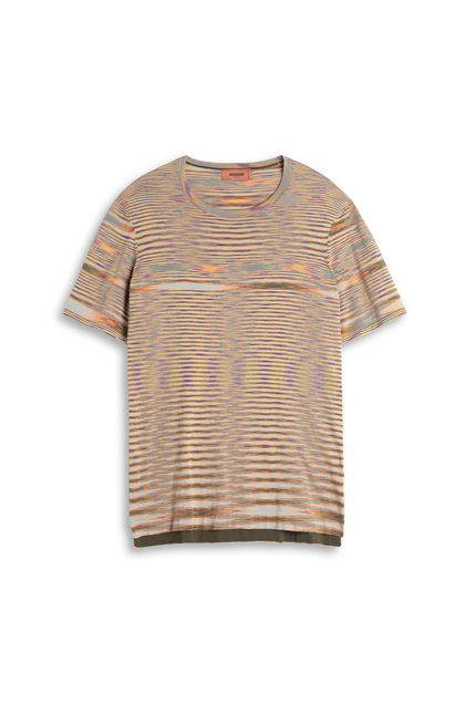 MISSONI Men's T-Shirts Orange Man - Back