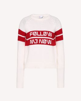 REDValentino Knit Sweater Woman RR3KCA09JPN 0NO a