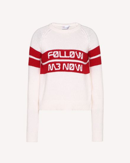 REDValentino Knit Sweater Woman RR3KCA01DTM 031 a