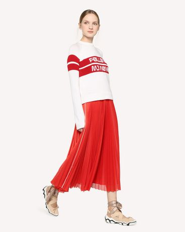 REDValentino RR3KCA01DTM 031 Knit Sweater Woman d