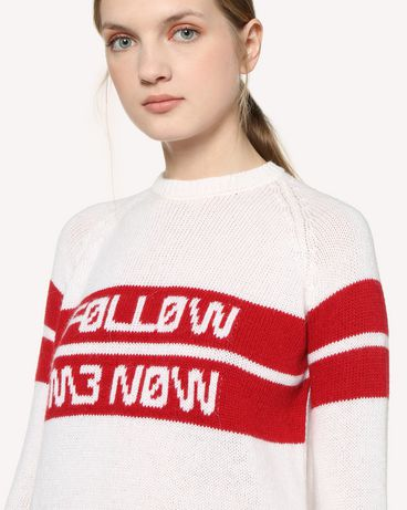 REDValentino RR3KCA01DTM 031 Knit Sweater Woman e
