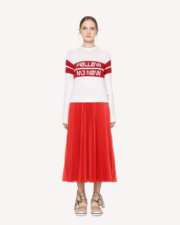 REDValentino RR3KCA01DTM 031 Knit Sweater Woman f